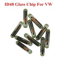 Wholesale Id48 Can Transponder - Wholesale ID48 Glass Chip For VW CAN System 10pcs lot VW ID48 Transponder Car Parts high Quality Free Shipping