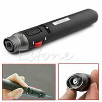 bütan kurşun kalemi toptan satış-Toptan-F85 Yeni Doldurulabilir Kaynak Lehimleme Kalem Bütan Gaz Jet Meşale Alev Kalem Çakmak