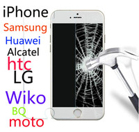 Wholesale blu tempered glass for sale – best Tempered Glass For iPhone Samsung Huawei htc LG Alcatel Moto Wiko BQ Vodafone BLU Doogee FLY Acer ZTE Xiaomi OPPO Asus NOKIA SONY