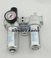 Wholesale Air Compressor Oil Lubricator Moisture Water Trap Filter Regulator With Mount SFC
