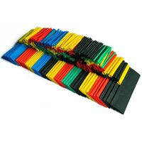 Wholesale Wire Wrap Cable - 328pcs Polyolefin Assorted Heat Shrink Tubing Wrap Wire Cable Insulated shrinkable sleeving Tube Set