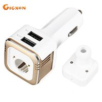 Wholesale Cheap Car Kits - Gigxon - Cheap Car Bluetooth car kit with mini 3 in 1 Bluetooth earphone with car charger