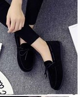 Wholesale Winter Closed Heels - Autumn and winter brand new   flat heel women shoes casual single shoes comfortable shoes