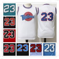 Maillots À Chaud Pas Cher Pas Cher-100% cousu Swingman SW Michael MJ Tune Squad 23 Jersey Pas cher Retro All star Hot Throwback Chandails cadeaux Sport HOT Christmas