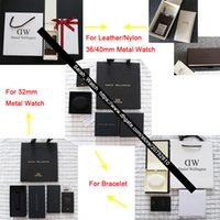 Wholesale Metal Box Leather - Watch Boxes For 32mm 34mm 36mm 38mm 40mm leather   Nylon   metal Watches