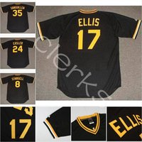 Wholesale yellow dock for sale - Pittsburgh Dock Ellis Barry Bonds Willie Stargell Manny Sanguillen Omar Moreno Richie Hebner Bert Blyleven Jerseys