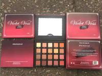 Wholesale Violet Color - New makeup Violet Voss pro Holy Grail Drenched Metal Laura 20 color eyeshadow palette