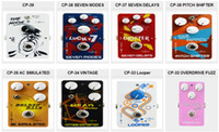 guitarra calina al por mayor-CALINE CP-32 CP-33 CP-34 CP-35 CP-36 CP-37 CP-38 CP-39 Efectos de guitarra de alto rendimiento Serie Pedal-CALINE