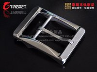 Wholesale Nickel Free Belts - 100% new brand and competitive price kinds of Style Titanium Ti Belt Buckle Belt Fastener Brushed Finish Nickel Free