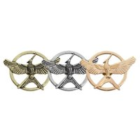Wholesale Hunger Fire - The Hunger games 3 Mockingjay catching fire christmas children alloy brooch factory direct Christmas gifts clothing decorations wholesale