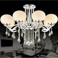 Wholesale Style Mini Rooms - European MINI Style Elegant Luxury 9 Light Crystal Chandelier, Modern Ceiling Light Fixture for Dining Room,Bedro om, Living Room