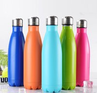 Wholesale Hot Sale Stainless Steel ml Cola Bottle Coke cup Beer Mug Creative Cup Vacuum Cup Coffee Water sport bottle