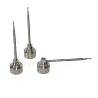 Wholesale Pointed Nails - Universal GR2 Titanium Nail Carb Cap with ball point dabber