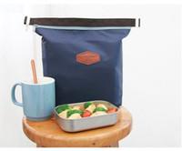 gıda serin paketleri toptan satış-200 adet / grup Piknik Için Yeni varış Moda Öğle Yemeği Çantası Bento Kutusu Yalıtımlı Paketi İçecek Gıda Termal Buz Soğutucu