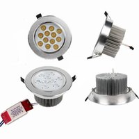 Wholesale Downlight Spotlight Fixture - LED Ceiling Spotlight Down Lights 9W 12W 15W 21W CREE LED Recessed Downlight Kitchen LED Fixture Lighting Lamps Day Light Warm Cool White