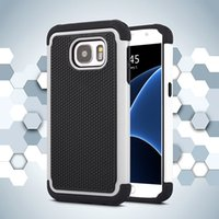 Wholesale Galaxy Note Ballistic Cases - Football Rugged ballistic Impact Combo PC+silicone Case cover For Samsung Galaxy S4 S5 S5 MINI S6 S6 EDGE S7 S7 EDGE A8 NOTE 4 NOTE 5 50PC
