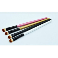 Wholesale Gold Eye Pencil - Designer 1 Pcs Professional Eye Brushes Eyeshadow Foundation Pencil Brush Makeup Tool Cosmetic Brushes 3 Colors