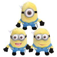 "Wholesale 3d Plush Eyes - 150pcs Movie Plush Toy Jorge Stewart Dave 3D Eye plush stuffed Doll Xmas Gift 7""18cm"