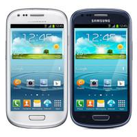 Wholesale Mini Camera 3g - Original Refurbished Unlocked Samsung Galaxy S3 Mini i8190 4.0 inch 1GB RAM 8GB ROM Dual Core 5.0MP WiFi WCDMA 3G Mobile phone DHL 1pcs