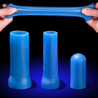 Wholesale Penis Silicone Extender Sleeve - Penis Clamping Kit for Penis Enlargement  Extender Stretcher Replacement ,Comfort phallosan silicone Sleeves for vacuum cup extender