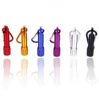 мини-фонарик кнопки оптовых-Светодиодные брелок фонари многоцветные мини светодиодный фонарик Факел с карабином Брелок фонарик 4xag13 кнопки батареи
