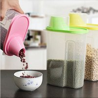 Food spices rice - Practical Kitchen Spices Rice Cereal Seal Preserving Pot Storage Jars
