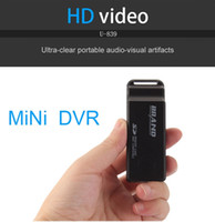 HD 1080P USB Disco Spy telecamera U839 Motion Detection Visione notturna USB flash drive nascosto telecamera Mini DV U Disco registratore video