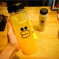 Wholesale Factory Outlets ml South Korea s new promise me my bottle cup plastic cup lemon water bottle custom logo