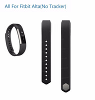 Wholesale watches good prices for sale - Group buy good price High Quality New Replacement Wrist Band silicone Strap Clasp For Fitbit Alta Smart Watch Bracelet Color