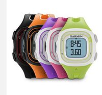 Wholesale original garmin - Wholesale- GPS watch original Garmin Forerunner 10 5ATM men & women profession outdoor sport running Forerunner10 training garmin watch