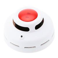 carbon monoxide alarm al por mayor-Alarma de monóxido de carbono y humo de combustión mixta estable Detector de humo de CO altamente sensible para seguridad doméstica