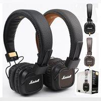 Wholesale Mp3 Generation - Marshall Major II 2 Headphones Headset Remote Mic 2nd New Generation pk MARSHALL MONITOR SE215 AAA quality