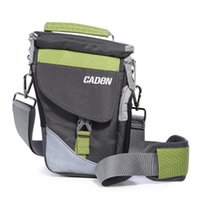 Wholesale Cameras Shoulders Carry - Professional Camera Shoulder Bags Photo Video Carry Case Digital Soft Sling Bag with Rain Cover for DSLR Canon Nikon