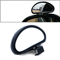 Wholesale Wide Angle Side View Mirror - Arc Car Blind Spot Mirror Wide Angle Side 360 View Adjustable fits Car SUV Truck RV
