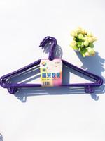 Wholesale Scarf Hooks Plastic - Cooler Hanger Household Hook Adult Adult Clothes Rack Longer Coat Hanging Clothes Hanger
