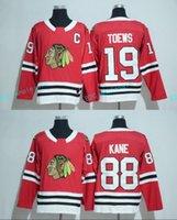 Wholesale Stockings Nylon Xl - In Stock Mens 2017-2018 New Season 19 Jonathan Toews 88 Patrick Kane Jersey Chicago Blackhawks Team 100% Stitched Embroidery Hockey Jerseys