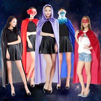 6T+ stage themes - Witch Cape CM Hooded Long Cloak Robe death cape Halloween Cosplay Adult Theme Costume party Cape