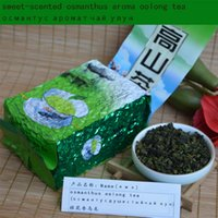 Wholesale Chinese Blood Pressure - 2017 good NEW tea 250g Chinese taiwan high tea Osmanthus fragrance Oolong tea,weight loss,lowering blood pressure, greenfood shipping