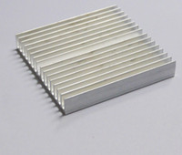 свободные алюминиевые банки оптовых-Wholesale- Free Ship High quality PCB heat sink extrusions 60*10*60mm electronic IC chip aluminum radiator can be customized
