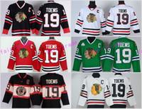 Wholesale Sports Jerseys Winter - Best 19 Jonathan Toews Jersey Chicago Blackhawks 2017 Winter Classic Ice Hockey Sports Throwback Home Red Alternate White Green Black