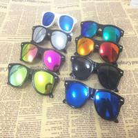 Wholesale Baby Sunglasses Wayfarer - Kids Sunglasses UV Protection Fashion Beach Travel Eyewear Trendy Baby Boys Girls Summer Sunglasses Birthday Gifts