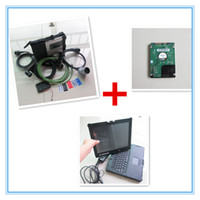 Wholesale Mercedes Wis - mb diagnostic tool for mercedes benz mb star c5 multiplexer with software xentry epc wis with nec laptop full set ready to work