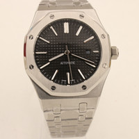 Wholesale Offshore Black - Luxury Brand Mens Watch ROYAL OFFSHORE Automatic Mechanical Stainless Steel Transparent Back Original Clasp Top Quality Men Watches