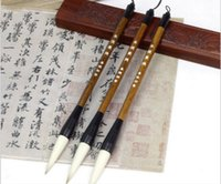 Wholesale Large Chinese Calligraphy Brushes - Fantistic!Goat wolf soft hair high quality large regular writing mid-function brush chinese calligraphy pen beginners pratice