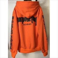 Wholesale crossfit sweatshirt for sale - Group buy Justin Bieber STAFF Hoodie Purpose Tour Sweatshirt Men Orange Pullover Alchemist Tracksuit Oversize Crossfit Hoodies Women XXXL