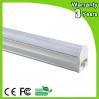 ampoule 5x3w achat en gros de-(10pcs / lot) 3 ans de garantie Super Bright 4ft 1.2m 20W 1200mm LED T5 Tube Tube ampoule LED de lumière fluorescente Lampe Daylight