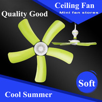Ceiling Plastic CE Fashion Ceiling Fan Cool Summer Efficient Energy Saving Office Dormitory Bedroom Good Quality AC Appliances Household Free shipping Cool Fan