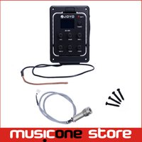 Wholesale Acoustic Bass Pickup - JOYO JE-306 Acoustic Guitar 5-Band Preamp EQ Volume Bass Middle guitar Tuner Pickup