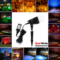 Wholesale Spotlight Stage Lighting Wholesale - Laser Rotating flame Light Projectors, Waterproof Christmas Landscape Spotlight Projection LED Light Show for Indoor, Outdoor Decoration