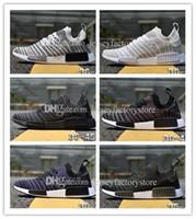 Wholesale Nice Cities - Cheap Originals NMD City Sock Black Vintage White OG Primeknit SUP Nice Kicks Triple Black Women Men Nmds Runner R1 Running Shoes Eur 36-45